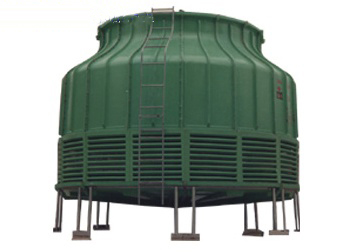 yuan形逆流式冷却塔